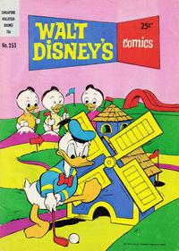 Cover Thumbnail for Walt Disney's Comics (W. G. Publications; Wogan Publications, 1946 series) #353