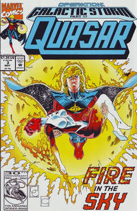 Cover Thumbnail for Quasar (Marvel, 1989 series) #34 [Direct (Number 3)]