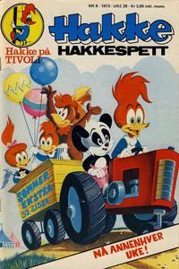 Cover Thumbnail for Hakke Hakkespett (Nordisk Forlag, 1973 series) #8/1973