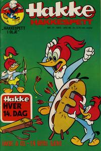 Cover Thumbnail for Hakke Hakkespett (Nordisk Forlag, 1973 series) #17/1973