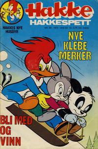 Cover Thumbnail for Hakke Hakkespett (Nordisk Forlag, 1973 series) #20/1973
