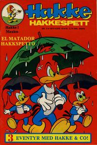 Cover Thumbnail for Hakke Hakkespett (Nordisk Forlag, 1973 series) #5/1974