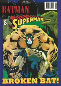 Cover Thumbnail for Batman & Superman (Egmont UK, 1994 series) #9
