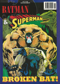 Cover Thumbnail for Batman & Superman (Egmont UK, 1994 series) #9