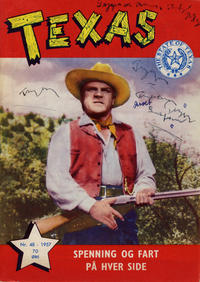 Cover Thumbnail for Texas (Serieforlaget / Se-Bladene / Stabenfeldt, 1953 series) #48/1957