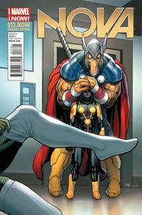 Cover Thumbnail for Nova (Marvel, 2013 series) #13.NOW [Frank Cho Variant]