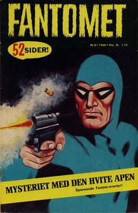 Cover Thumbnail for Fantomet (Romanforlaget, 1966 series) #8/1968