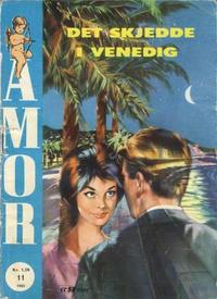 Cover Thumbnail for Amor (Serieforlaget / Se-Bladene / Stabenfeldt, 1961 series) #11/1962