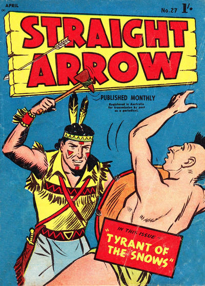Cover for Straight Arrow Comics (Magazine Management, 1955 series) #27