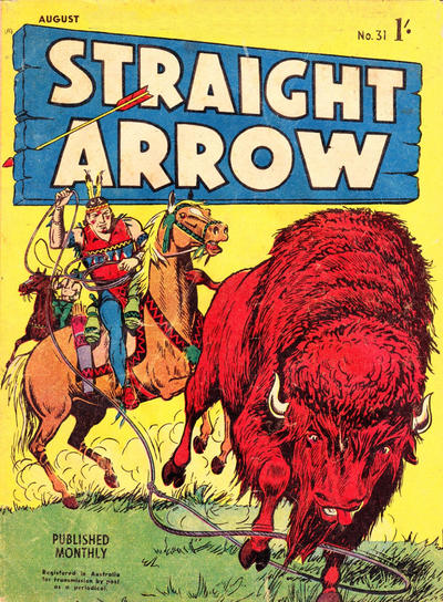 Cover for Straight Arrow Comics (Magazine Management, 1955 series) #31