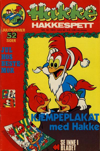 Cover for Hakke Hakkespett (Nordisk Forlag, 1973 series) #19/1973