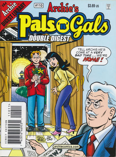 Cover for Archie's Pals 'n' Gals Double Digest Magazine (Archie, 1992 series) #110 [Newsstand]