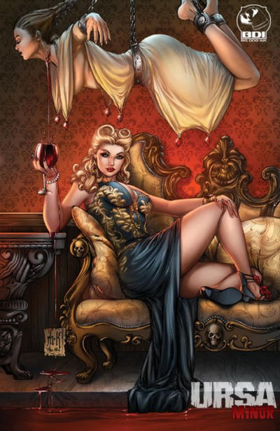 Cover for Ursa Minor (Big Dog Ink, 2013 series) #1 [Cover C - Mike Krome]