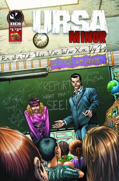 Cover for Ursa Minor (Big Dog Ink, 2013 series) #2 [Cover B - Nei Ruffino]