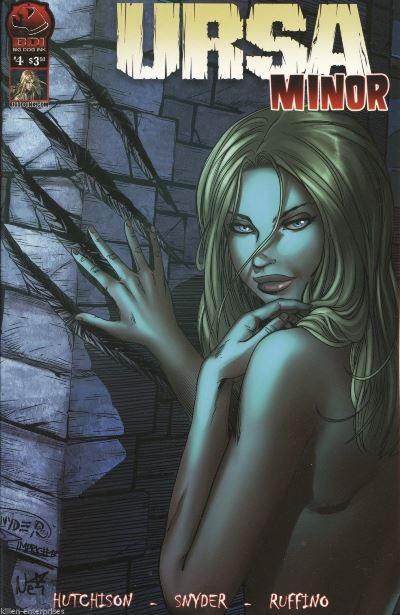 Cover for Ursa Minor (Big Dog Ink, 2013 series) #4 [Cover B - Nei Ruffino]