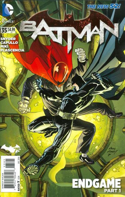 Cover for Batman (DC, 2011 series) #35 [Newsstand]