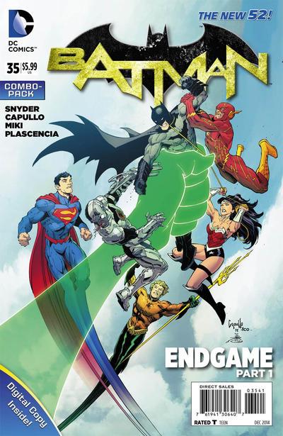 Cover for Batman (DC, 2011 series) #35 [La Mole Comic Con Exclusive Cover]
