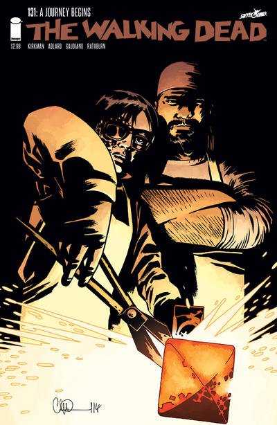 Cover for The Walking Dead (Image, 2003 series) #131