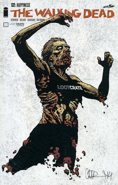 Cover for The Walking Dead (Image, 2003 series) #132 [Charlie Adlard Cover]