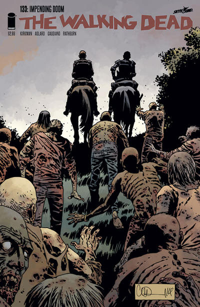 Cover for The Walking Dead (Image, 2003 series) #133
