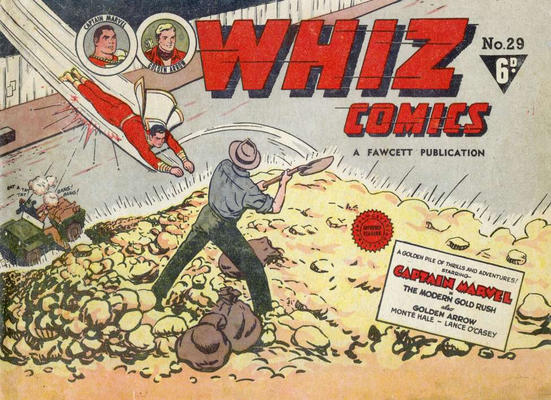 Cover for Whiz Comics (Cleland, 1946 series) #29