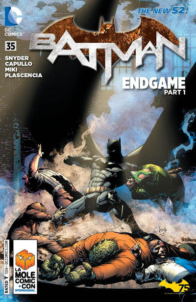 Cover for Batman (DC, 2011 series) #35 [Monsters of the Month Cover]