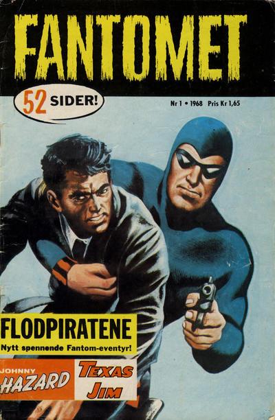 Cover for Fantomet (Romanforlaget, 1966 series) #1/1968