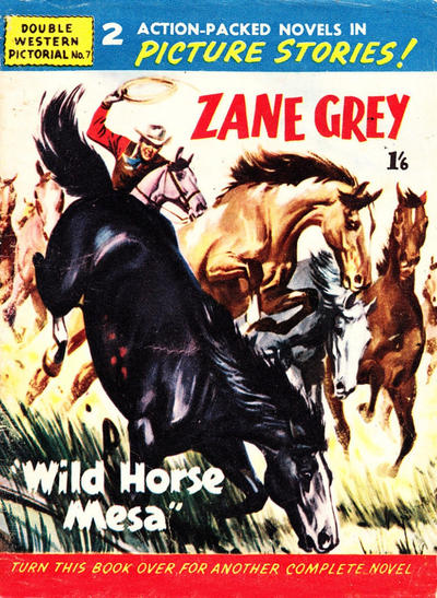 Cover for Double Western Pictorial (Trans-Tasman Magazines, 1958 ? series) #7