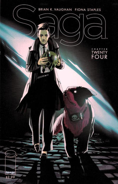 Cover for Saga (Image, 2012 series) #24