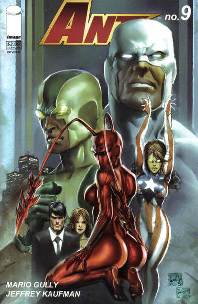 Cover for Ant (Image, 2005 series) #9 [Cover A]