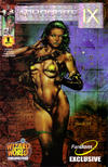 Cover for Aphrodite IX (Image, 2000 series) #1 [Wizard World Chicago Exclusive Foil Cover]