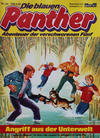Cover for Die blauen Panther (Bastei Verlag, 1980 series) #20 - Angriff aus der Unterwelt