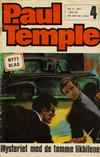 Cover for Paul Temple (Romanforlaget, 1971 series) #4/1971