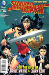 Cover for Worlds' Finest (DC, 2012 series) #28