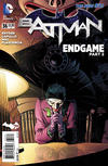 Cover Thumbnail for Batman (2011 series) #36 [Andy Kubert Variant Cover]