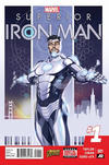 Cover for Superior Iron Man (Marvel, 2015 series) #1