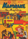 Cover for Mandrake the Magician (Feature Productions, 1950 ? series) #90