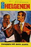 Cover for Helgenen (Romanforlaget, 1966 series) #9/1972