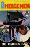 Cover for Helgenen (Romanforlaget, 1966 series) #5/1972