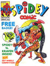 Cover for Spidey Comic (Marvel UK, 1985 series) #654