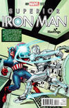 Cover for Superior Iron Man (Marvel, 2015 series) #1 [Hastings Interconnecting Variant by Mike Perkins]