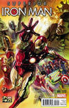 Cover for Superior Iron Man (Marvel, 2015 series) #1 [Alex Ross 75th Anniversary Color Variant]