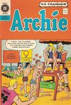 Cover for Archie (Editions Héritage, 1971 series) #31