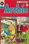 Cover for Archie (Editions Héritage, 1971 series) #75