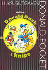 Cover for Donald Pocket Luksusutgaven (Hjemmet / Egmont, 2008 series) #3 - Donald Duck i knipe