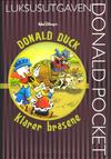 Cover for Donald Pocket Luksusutgaven (Hjemmet / Egmont, 2008 series) #8 - Donald Duck klarer brasene