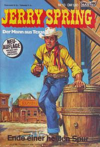 Cover Thumbnail for Jerry Spring (Bastei Verlag, 1978 series) #13