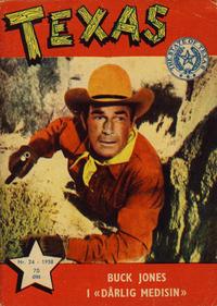 Cover Thumbnail for Texas (Serieforlaget / Se-Bladene / Stabenfeldt, 1953 series) #24/1958