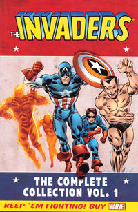 Cover Thumbnail for Invaders Classic: The Complete Collection (Marvel, 2014 series) #1