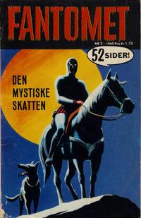 Cover Thumbnail for Fantomet (Romanforlaget, 1966 series) #2/1969